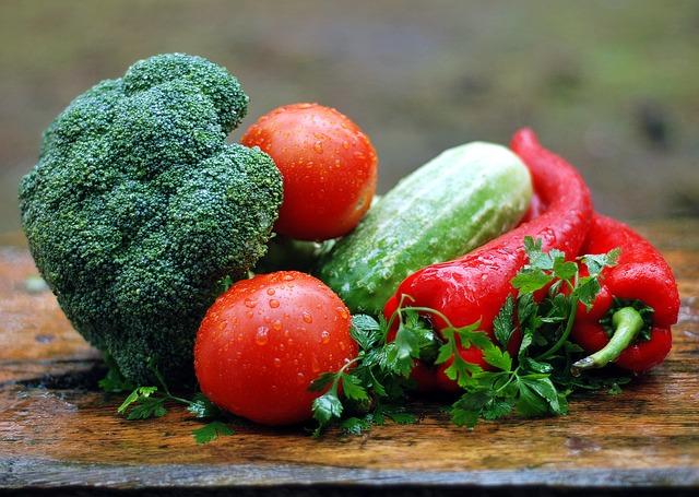 mokrá zelenina