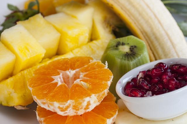 oloupané ovoce