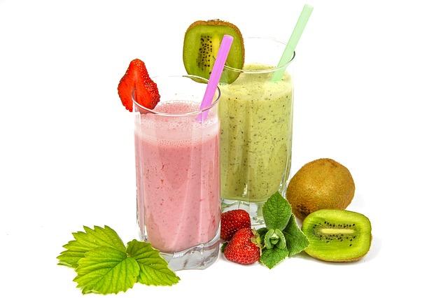 ovocné koktejly