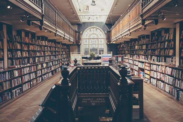 zavřená knihovna