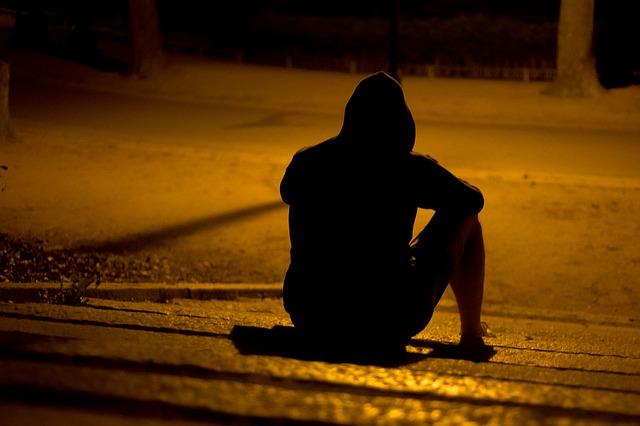 osamělá osoba
