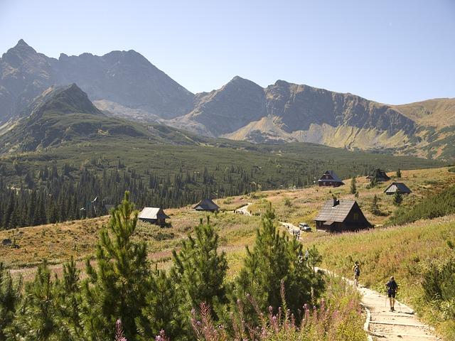 pěší turistika na horách