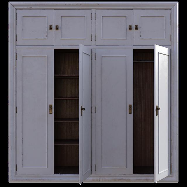 I vestavěné skříně mohou být velké